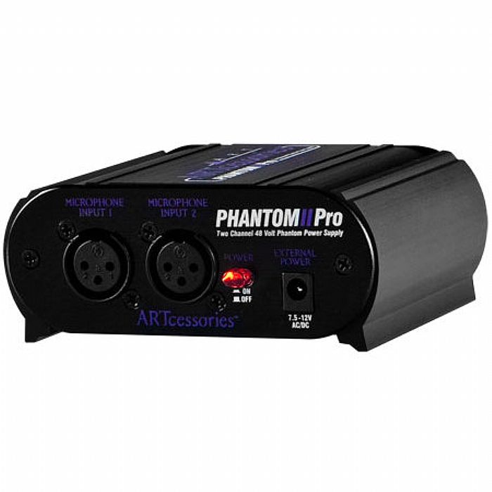 ART - ART Phantom II Pro Dual Channel Phantom Power Supply