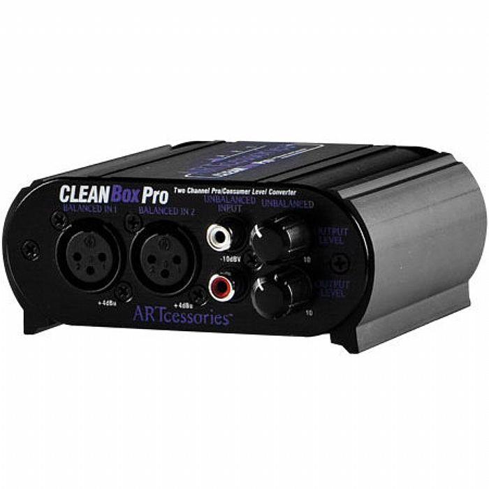 ART - ART CleanBox Pro Dual Channel Level Converter