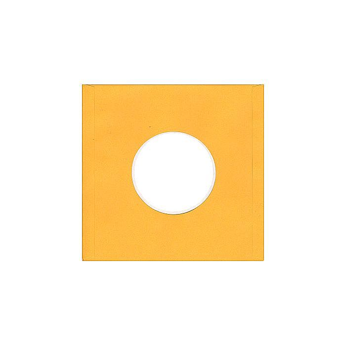 BAGS UNLIMITED - Bags Unlimited 7'' Yellow Paper Record Sleeves (pack of 1200)