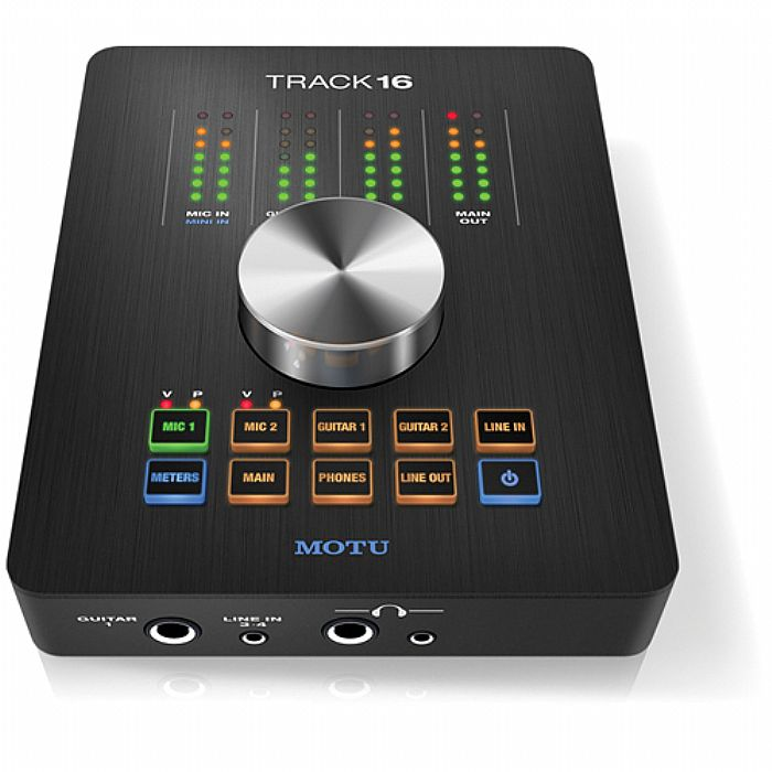 MOTU Track 16 Desktop Studio Audio & MIDI Interface