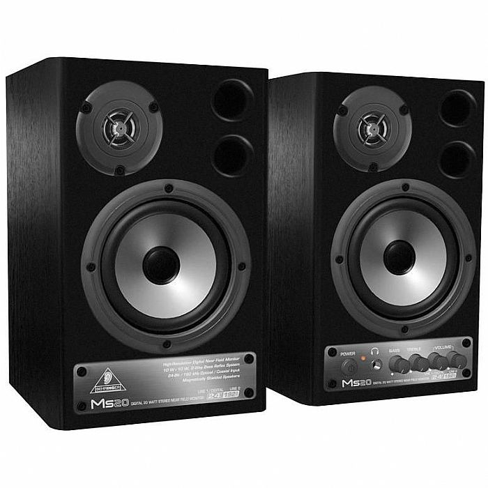 BEHRINGER - Behringer MS20 Digital Monitor Speakers (black, pair)