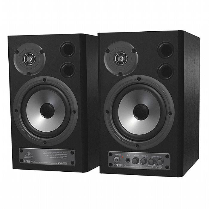 BEHRINGER - Behringer MS40 Digital Monitor Speakers (black, pair)