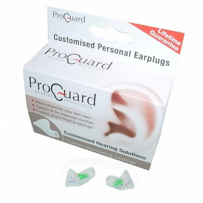 PROGUARD - Proguard Attenuating Customised Personal Earplugs (UK ONLY)