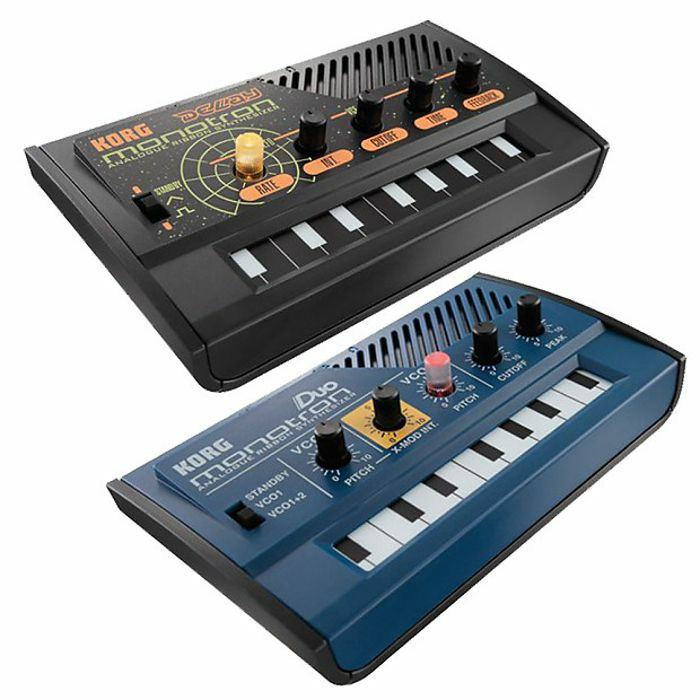 KORG - Korg Monotron Duo Analog Synthesizer + Monotron Delay Analog Synthesizer (REDUCED PRICE BUNDLE)