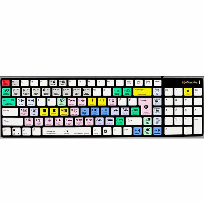 editors keys editors keys adobe premiere pro cs dedicated shortcut keyboard for pc apple mac. Black Bedroom Furniture Sets. Home Design Ideas