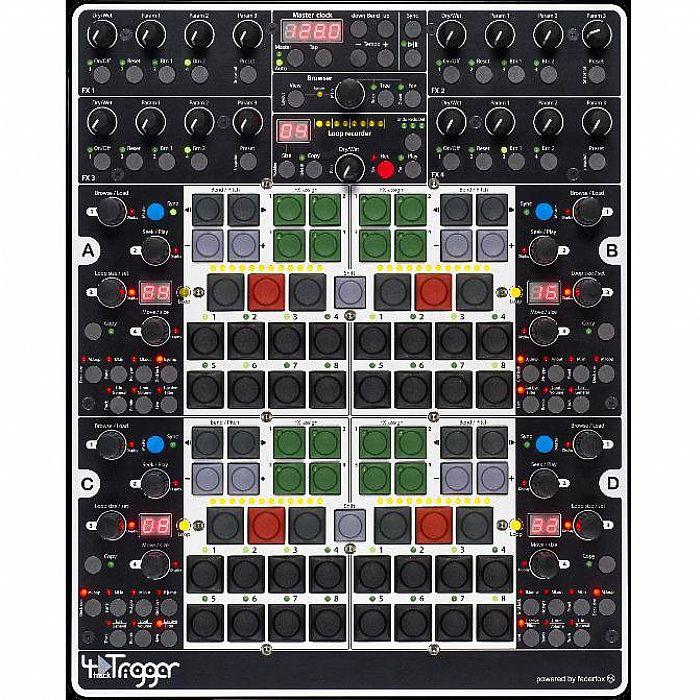 4MIDILOOP - 4midiloop 4TrackTrigger DJ Controller