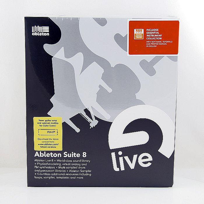 Ableton Suite 8 DJ & Music Production Software + FREE Novation Launchpad  Ableton Live USB MIDI Controller