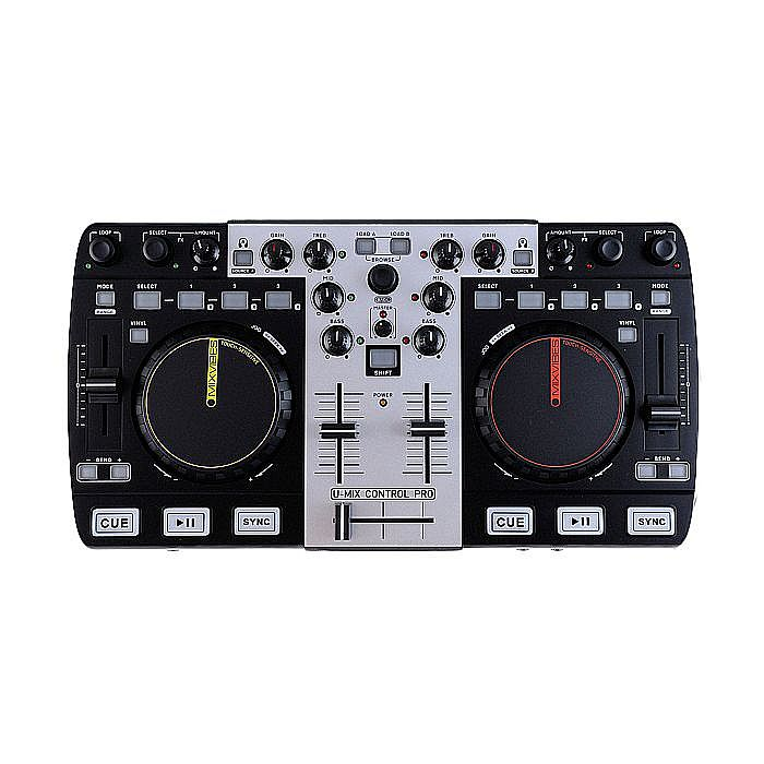 mixvibes mixvibes umix control pro dj controller free mixvibes umix dj set starter kit vinyl. Black Bedroom Furniture Sets. Home Design Ideas