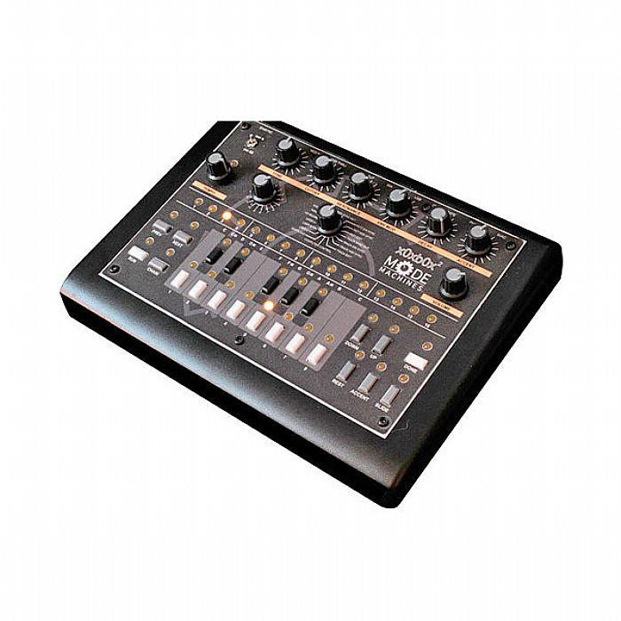 MODE MACHINES - Mode Machines xOxbOx Socksbox MkII TB303 Clone Synthesizer (yellow LEDs)
