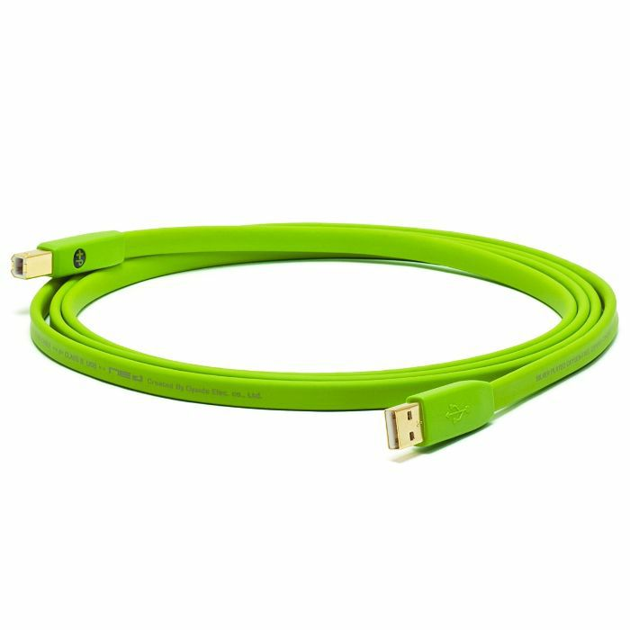 NEO - Neo d+ USB Class B Cable (green, 1.0m)