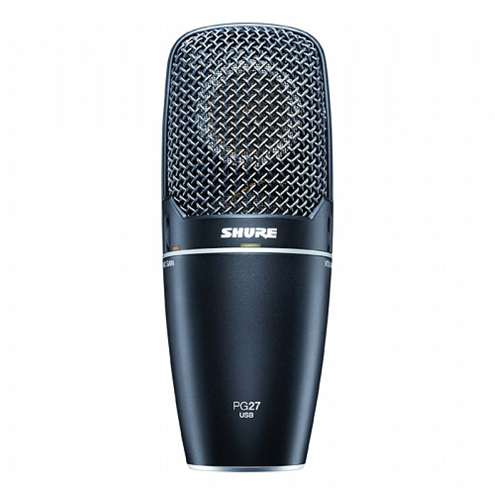 SHURE - Shure PG27 USB Side Address Condenser Microphone (black)