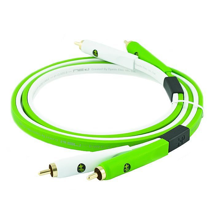 NEO - Neo d+ RCA Class B Audio Cable (lime/white, 3.0m)