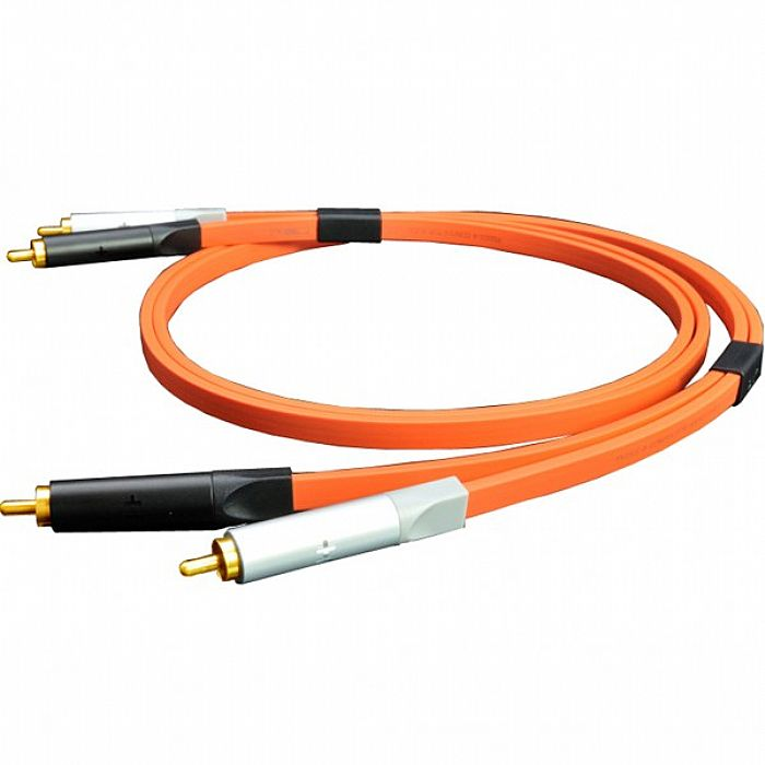 NEO - Neo d+ RCA Class A Audio Cable (orange, 1.0 m)