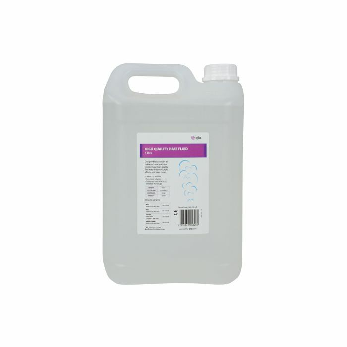 QTX - QTX High Quality Haze Fluid (5 litres)