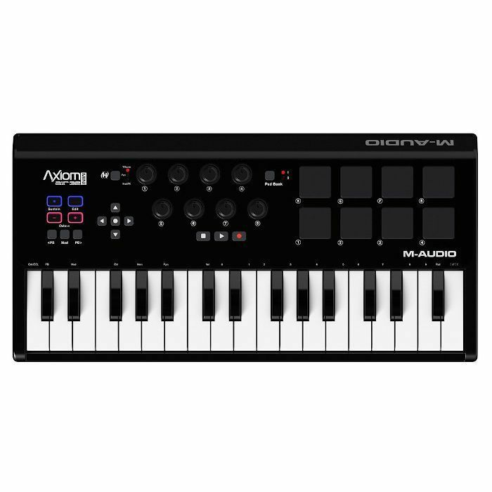 M AUDIO - M Audio Axiom Air Mini 32 USB Keyboard Controller With Ableton Live Lite And Ignite Audio Production Software