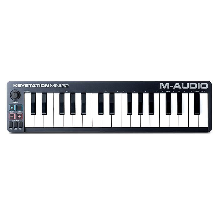 M AUDIO - M Audio Keystation Mini 32 MkII USB MIDI Keyboard Controller With Ableton Live Lite Software ***PICK & MIX PROMO - INCLUDES 5 FREE PLUGINS - OFFER ENDS 31ST AUGUST 2018***