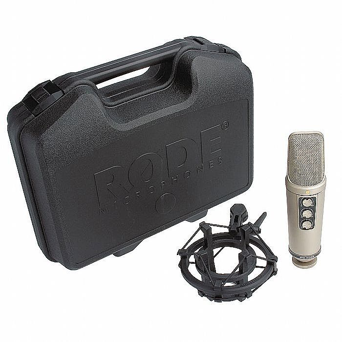 RODE/RODE - Rode NT2000 Variable Dual Condenser Microphone + FREE NT2000 Microphone Stand