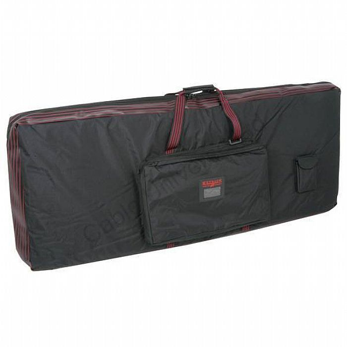 QTX SOUND - QTX Sound KB45S Keyboard Bag For 5 Octave Keyboards Slim Incl. Chord Casio Korg Roland Technics Yamaha