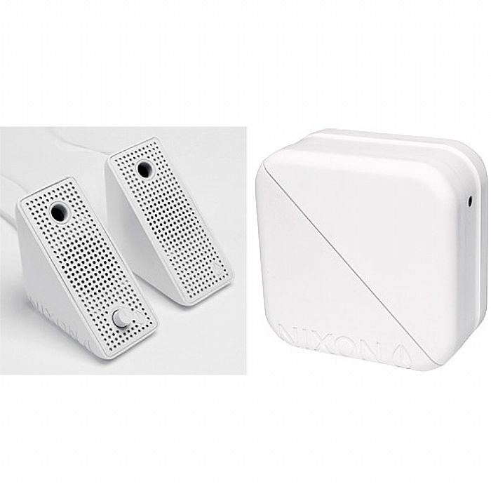 NIXON - Nixon The Block Mobile Stereo Speakers (white)