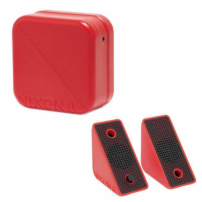 NIXON - Nixon The Block Mobile Stereo Speakers (red, black)