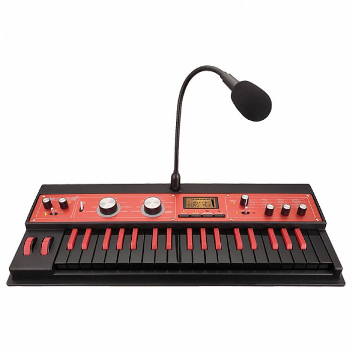 Korg MicroKORG XL+ BKRD Synthesizer & Vocoder (limited edition black & red)