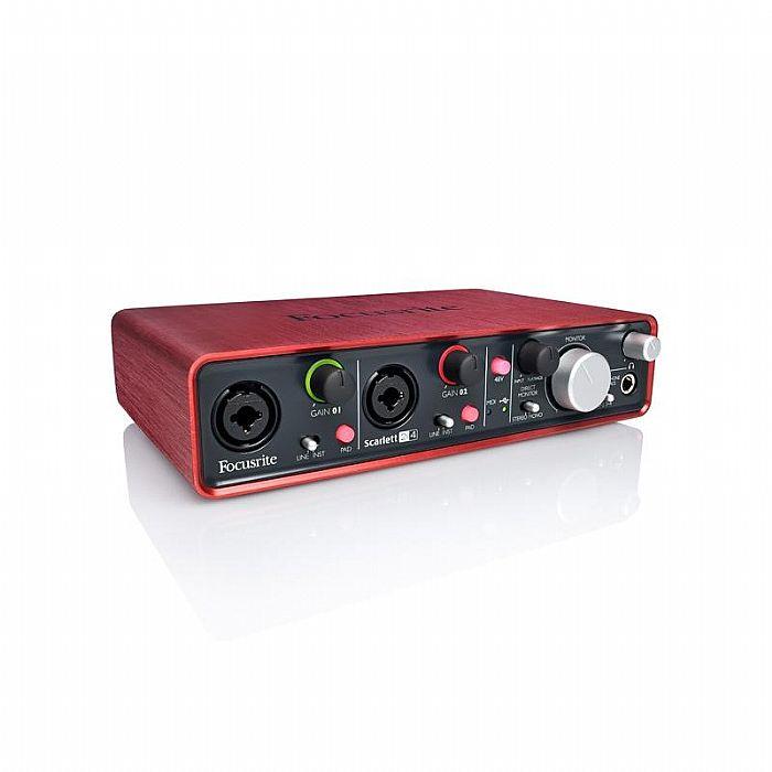 FOCUSRITE - Focusrite Scarlett 2i4 USB Audio Interface + Ableton Live Lite Audio Production Software