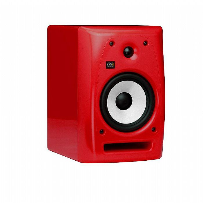 KRK - KRK Rokit RP6 G2 Active Monitor (single, red with white cone)