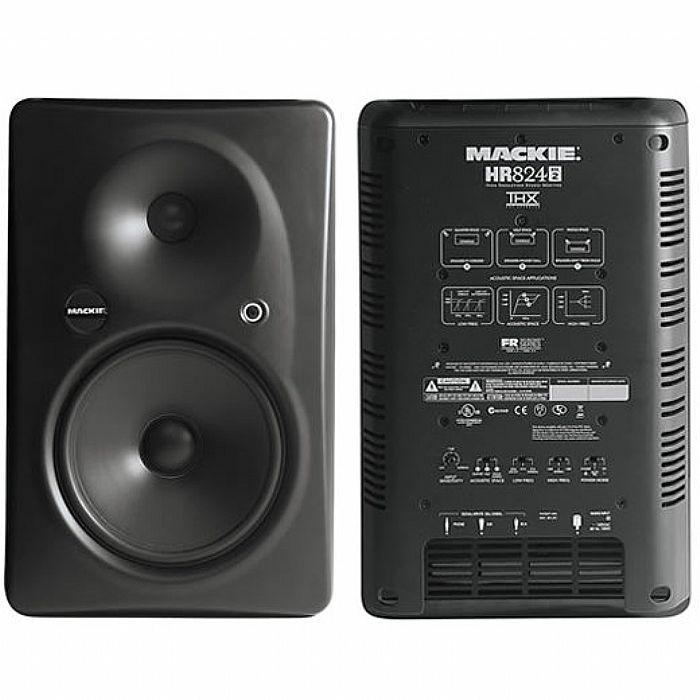 Mackie Hr824 Mkii : mackie mackie hr824 mkii active studio monitor single b stock vinyl at juno records ~ Vivirlamusica.com Haus und Dekorationen