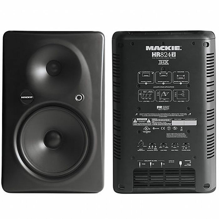 MACKIE - Mackie HR824 MkII Active Studio Monitor (single) (B-STOCK)