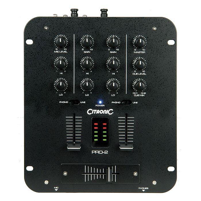 CITRONIC - Citronic PRO2 MkII DJ Mixer
