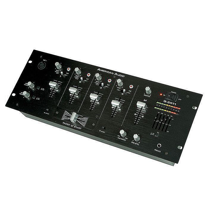AMERICAN AUDIO - American Audio Q2411 Pro Rackmount DJ Mixer (B-STOCK)