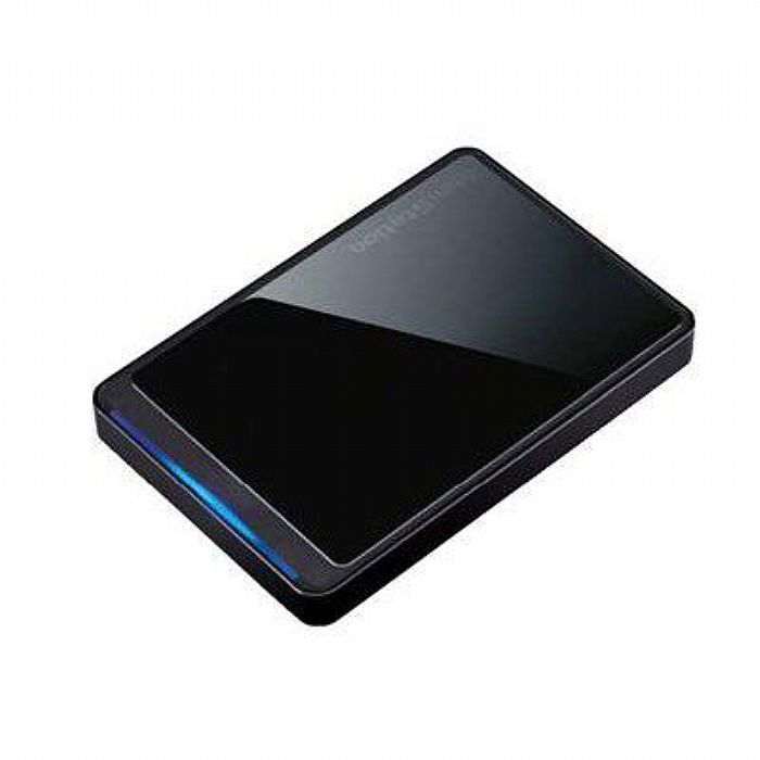 Buffalo Ministation 1TB USB 2.0 Portable Hard Drive (black)
