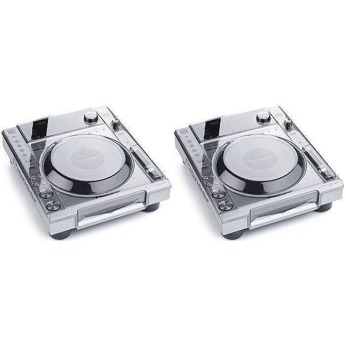 Pioneer CDJ850 Multi CD USB Player (pair, silver) + FREE 2 x Decksaver Pioneer CDJ850 Covers