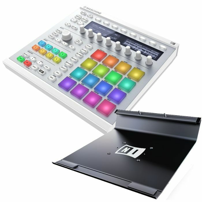 native instruments native instruments maschine mkii white with massive and komplete elements. Black Bedroom Furniture Sets. Home Design Ideas