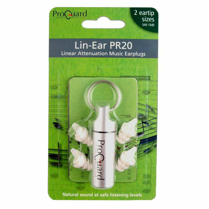 PROGUARD - Proguard PR20 Lin Ear Music Earplugs