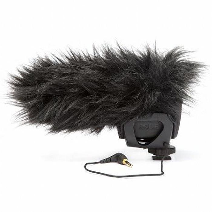 RODE - Rode Deadcat VMP Artificial Fur Wind Shield (black)