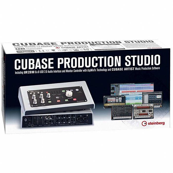 STEINBERG - Steinberg Cubase Production Studio Bundle (UK plug) With UR28M audio interface + Cubase Artist Audio Production Software