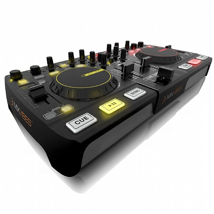 MIXVIBES - Mixvibes UMix Control Pro 2 DJ MIDI Controller With CrossDJ 2 Software