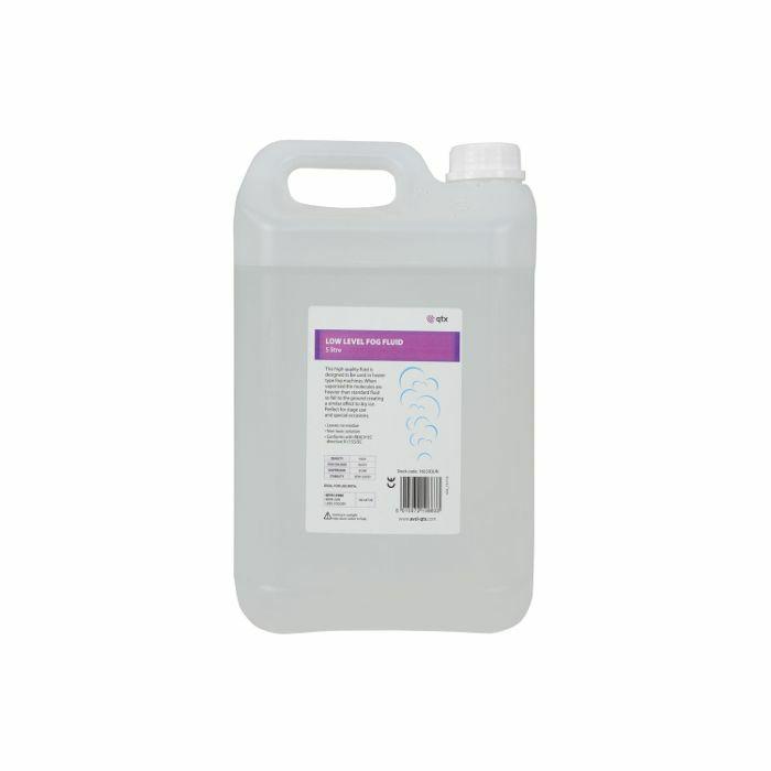 QTX - QTX Low Level Fog Fluid (5 litres)