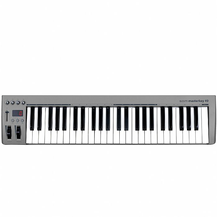 ACORN INSTRUMENTS - Acorn Masterkey 49 USB Controller Keyboard & Presonus Studio One Artist Music Production & Recording Software