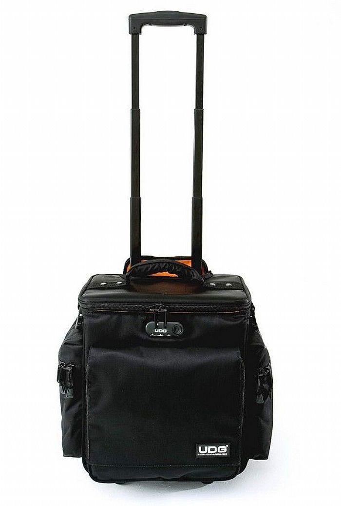UDG - UDG Slingbag Vinyl Record & CD Trolley Deluxe (black, orange)