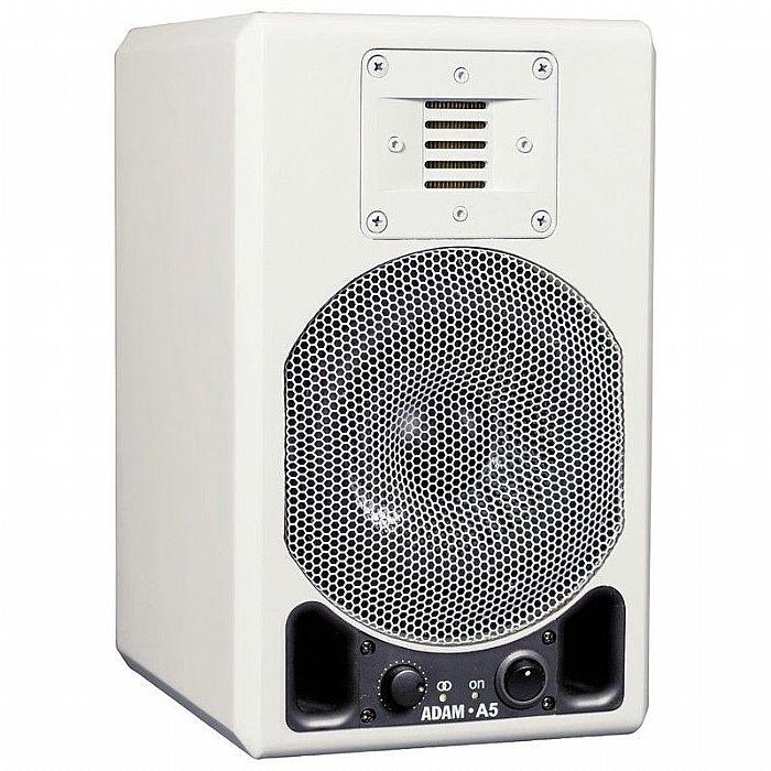 ADAM - Adam A5 Active Studio Monitor (single, white glossy)