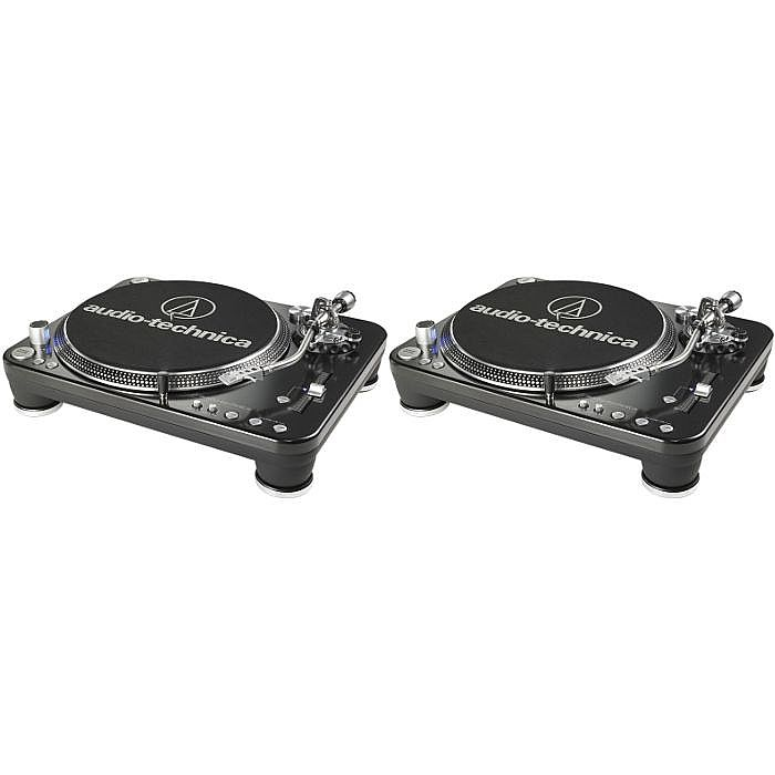 Audio Technica ATLP1240USB Professional DJ Turntables (pair)