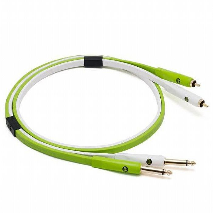 "NEO - Neo d+ RTS Class B - Phono (RCA) to Stereo 1/4"" TS Jack Audio Interconnect Cable (1.0m)"