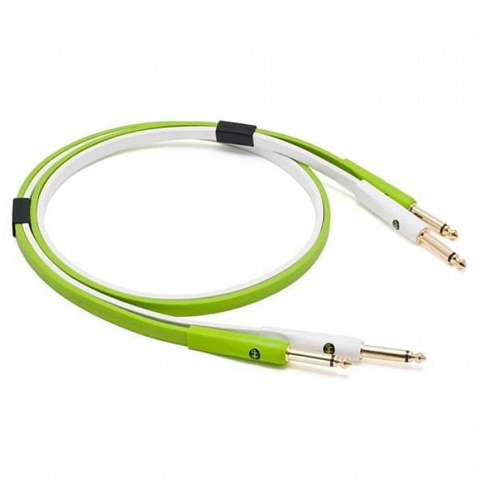 """NEO - Neo d+ TS Class B - Stereo 1/4"""" TS To Stereo 1/4"""" TS Audio Interconnect Cable (1.0m)"""