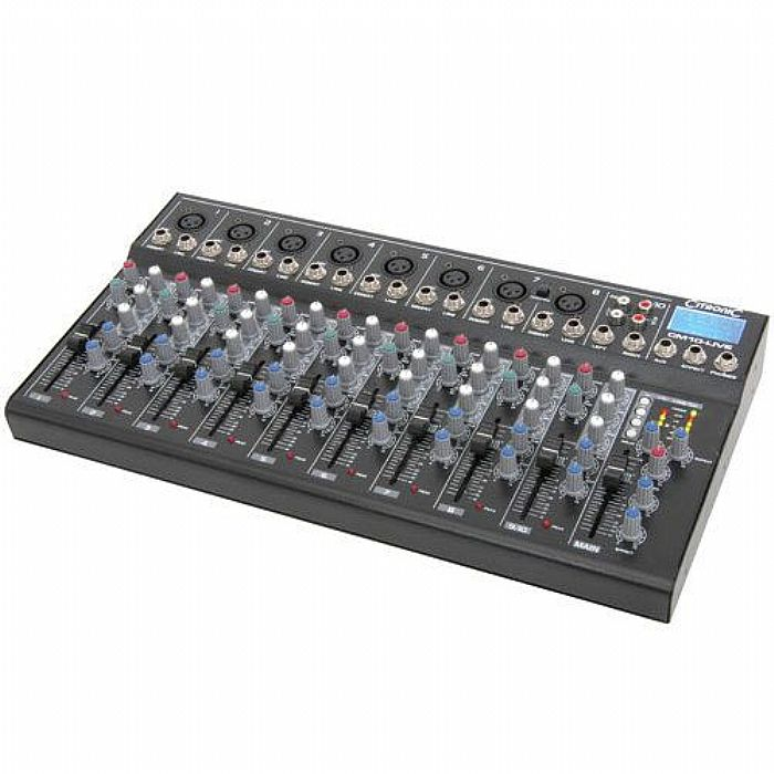 CITRONIC - Citronic CM10 Live Compact Mixer with Delay & USB SD Player