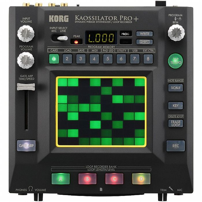 KORG - Korg Kaossilator Pro+ Dynamic Phrase Synthesizer & Loop Recorder
