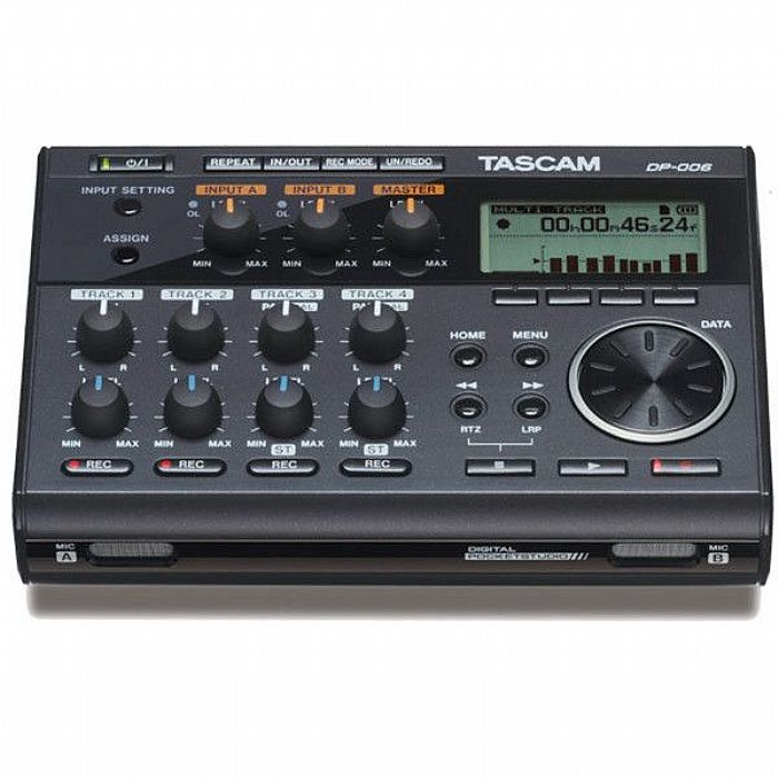 TASCAM - Tascam DP 006 Pocketstudio Digital Multitrack Recorder