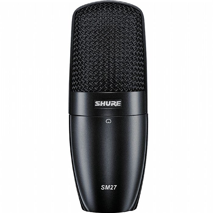 SHURE - Shure SM27 LC Large Diaphragm Side Address Condenser Microphone (black)