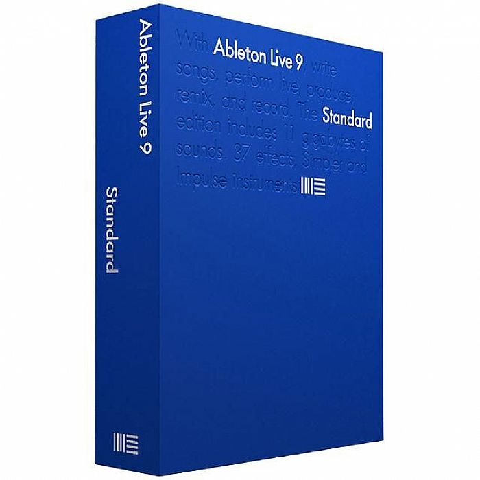 ABLETON - Ableton Live 9 Standard Edition (Educational Version)